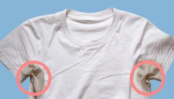 Як вивести плями від поту та дезодоранту в домашніх умовах