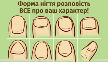 Форма нігтя – що вона говорить про ваш характер?