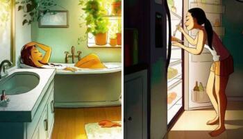 18 ілюстрацій, які доводять, що життя на самоті може приносити щастя