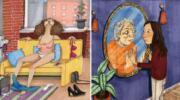 20 ілюстрацій про життя жінки