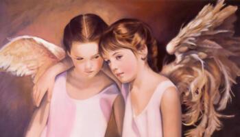 Розмова двох янголів, яка вас просто вразить. Неймовірно красива притча.