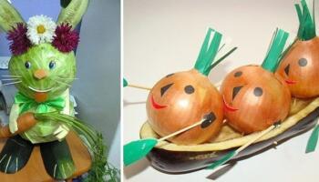 Добірка креативних ідей до конкурсу «Дари осені»