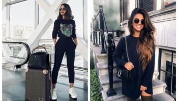 Осінній гардероб в стильному ефектному чорному кольорі: 20 шикарних ідей