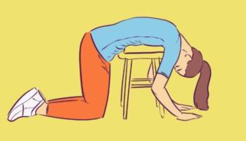 Комплекс вправ для розтяжки хребта в домашніх умовах