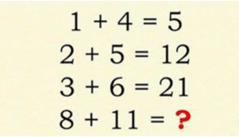 Тільки люди з дуже високим рівнем інтелекту здатні вирішити цю незвичайну задачку