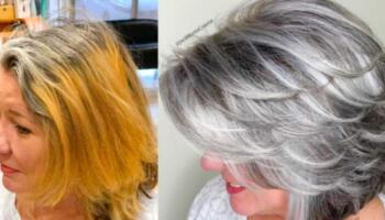 Колорист Джек Мартін довів, що сиве волосся — це гарно!