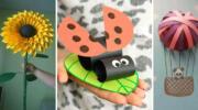 Дитяча творчість: красиві паперові аплікації (20 ідей)
