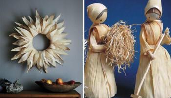 Вироби із кукурудзяного листя: 20 ідей